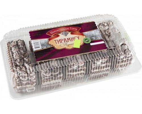 Пирожное Тирамису ТМ Шереметьевские торты, 270 г