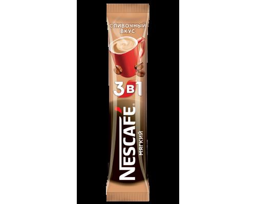 Напиток кофейный ТМ Nescafe (Нескафе) 3 в 1, растворимый, мягкий, 16 г