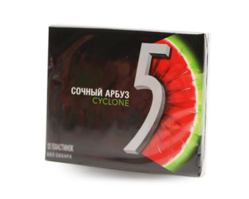 Резинка жевательная с ароматом арбуза ТМ Cyclone (Циклон)