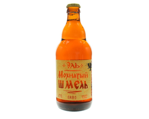 Пиво Эль Мохнатый шмель, 5%, 0,5 л