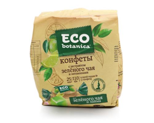 Конфеты со вкусом зеленого чая и лайма ТМ Eco botanica (Эко ботаника)
