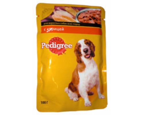 Корм полноценный для взрослых собак всех пород, с курицей ТМ Pedigree (Педигри)