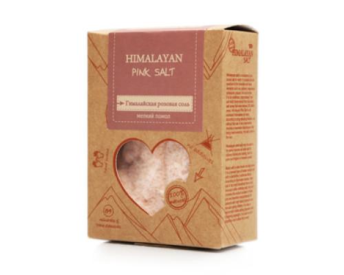 Соль розовая гималайская