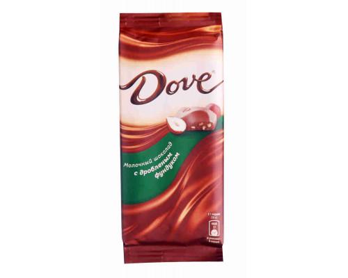 Шоколад Dove молочный с фундуком 90г