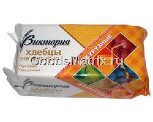 Хлебцы вафельные ТМ Виктория, кукурузные, 70 г