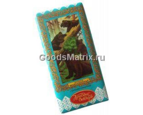 Шоколад ТМ Красный Октябрь, Мишка косолапый с орехами и вафлями, 75 г