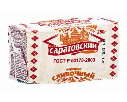 Маргарин ТМ Саратовский , сливочный 60% 250 г