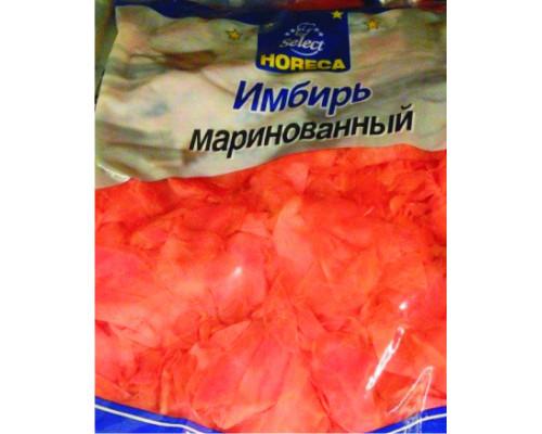 Имбирь розовый ТМ Horeca Select (Хорека Селект), маринованный, 1,4 кг