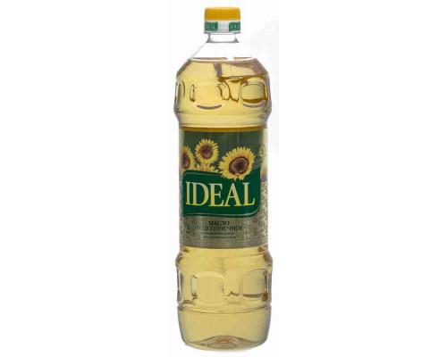 Масло подсолнечное Ideal рафинированное дезодорированное 1л