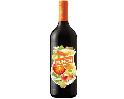 Вино Punch Fruit (Пунш Фрут) фруктовое, полусладкое, белое, 11%, 1 л