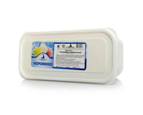 Мороженое пломбир Ванильный 15% ТМ Петрохолод