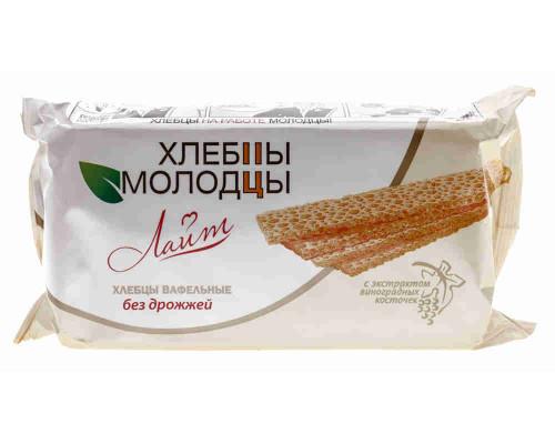 Хлебцы-Молодцы Лайт с экстратом виноградных косточек 70г
