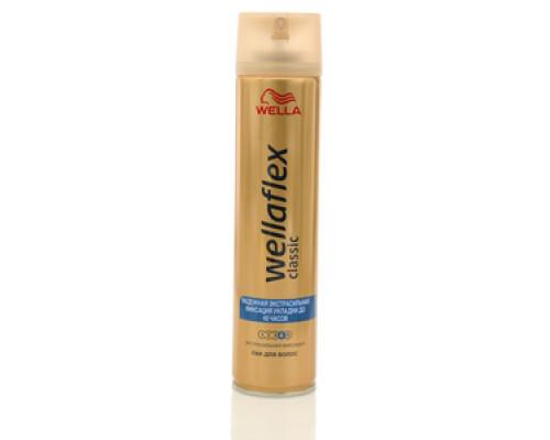Лак для волос надежная экстрасильная фиксация укладки до 48 часов ТМ WellaFlex (Веллафлекс)