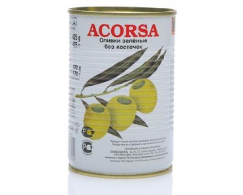 Оливки зеленые без косточки ТМ Acorsa (Акорса)