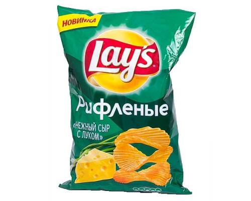 Чипсы ТМ Lay`s (Лэйс), нежный сыр с луком 80 г