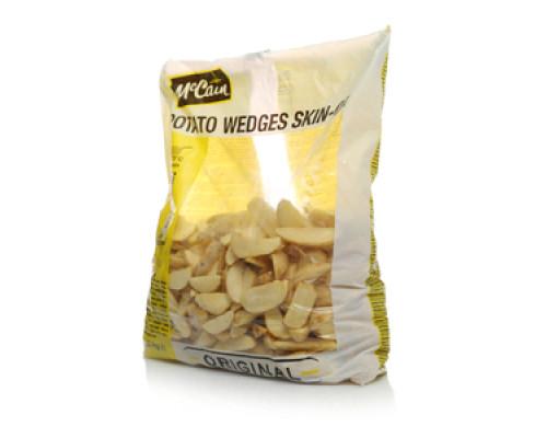 Дольки картофельные с кожурой обжаренные замороженные ТМ McCain (МакКейн)