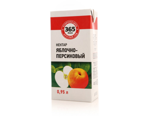 Нектар яблочно-персиковый ТМ 365 дней