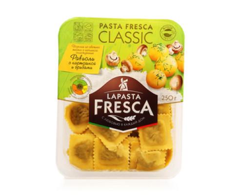Равиоли с картошкой и грибами ТМ Lapasta Fresca (Лапаста Фреска)