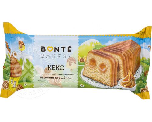 Кекс ТМ Bonte (Бонте) с вареной сгущенкой, 225 г