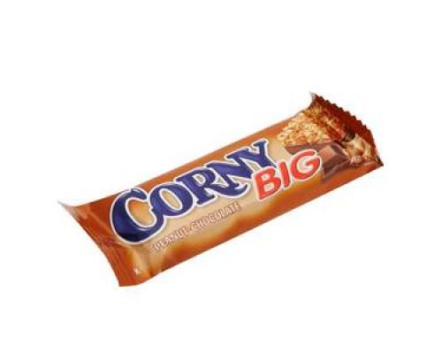 Батончик злаковый с арахисом в молочном шоколаде ТМ Corny Big  (Корни биг)