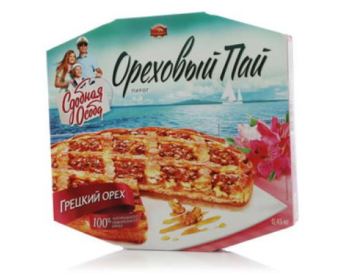 Пирог Ореховый Пай ТМ Черемушки