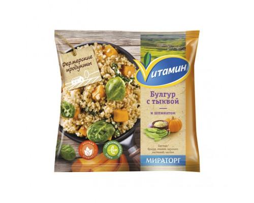 Булгур ТМ Vитамин (Витамин) с тыквой и шпинатом, 400 г