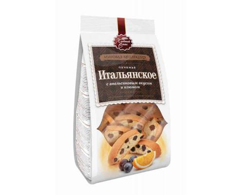 Печенье сдобное Итальянские сухарики с апельсиновым вкусом (изюм). 230г