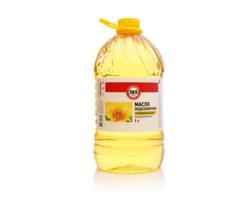 Масло подсолнечное рафинированное дезодорированное ТМ 365 дней