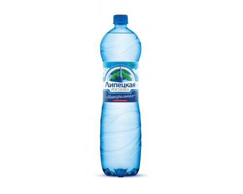 Вода Липецкая Росинка минеральная газированная 1,5 л пэт