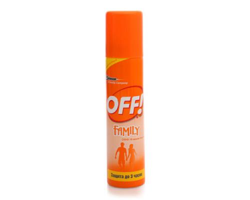 Спрей от комаров Family ТМ Off! (Офф!)