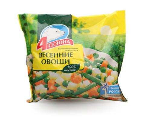 Весенние овощи ТМ 4 сезона