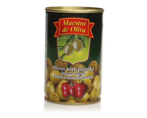 Оливки с перцем TM Maestro de Oliva (Маэстро де олива)