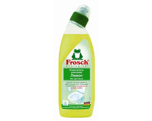 Очиститель д/унитаза Frosch на натуральном соке лимона 750мл