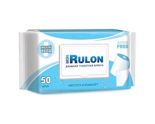 Влажная туалетная бумага MON RULON 50 шт. 1 упк