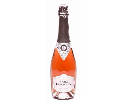 Вино Игристое Розовое Колье Екатерины п/сл.алк.10,5-12,5 % 0,75 л