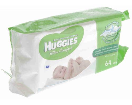 Влажные детские салфетки Huggies Дори 56шт