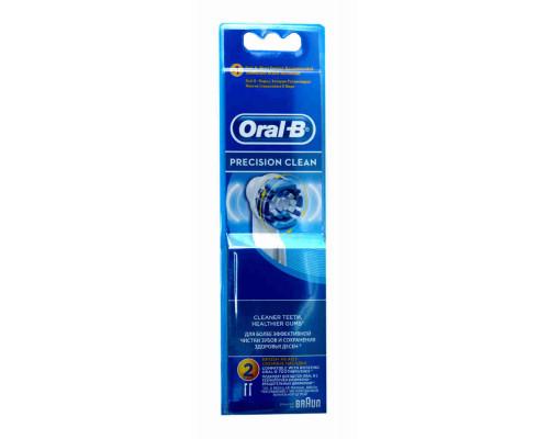 ORAL-B Насадка д/зубной щетки  Preclean 2шт