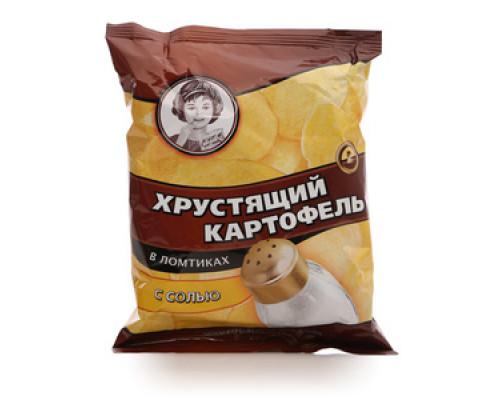 Чипсы с солью ТМ Хрустящий картофель