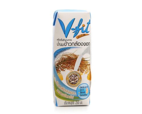 Молоко из коричневого риса без сахара ТМ V-fit (В-Фит)