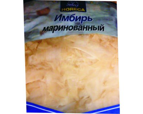 Имбирь ТМ Horeca Select (Хорека Селект), белый, маринованный, 1,4 кг