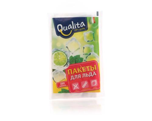 Пакеты для льда на 280 кубиков ТМ Qualita (Куалита)