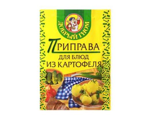 Приправа для блюд из картофеля ТМ Добрый гном