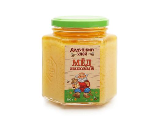 Мед липовый ТМ Дедушкин улей