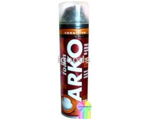 Пена для бритья для чувствительной кожи Экстра увлажнение ТМ Arko Sensitive