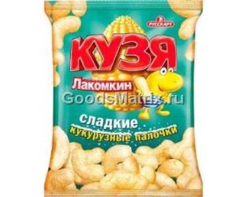 Кукурузные палочки ТМ «Кузя Лакомкин» с сахарной пудрой , 85 г