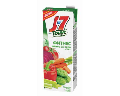 Напиток J7 Тонус Овощной микс/морская соль 1,45л т/п