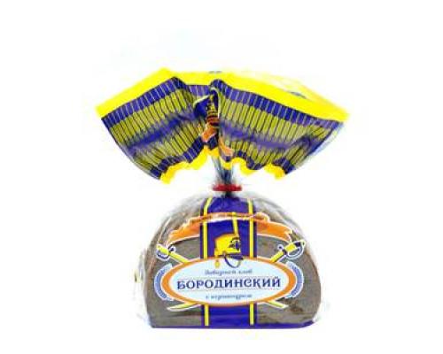 Хлеб Бородинский с кориандром ТМ Каравай