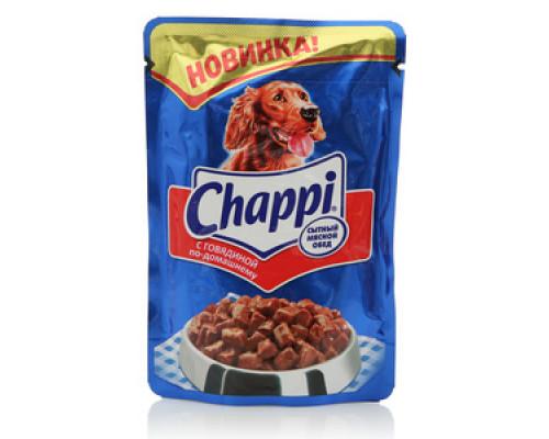 Корм для собак с говядиной по-домашнему ТМ Chappi (Чаппи)