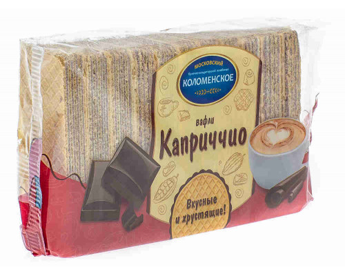 Вафли Коломенское Каприччио с шоколадной начинкой