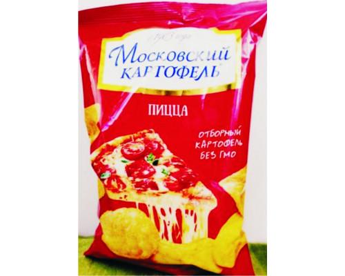 Картофель ТМ Московский картофель, хрустящий, со вкусом пиццы, 60 г